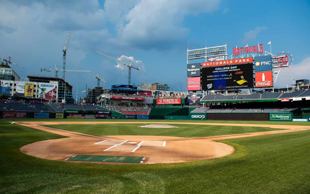 NCC Gold Medalists and Craft Professional of the Year Honored at Washington Nationals Game